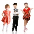 Stock Photo: Fashionable children