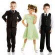Fashionable children — Stock Photo #5250795