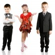 Fashionable children — Stock Photo #5250805