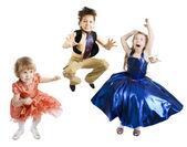 Children Jumping — Stock Photo