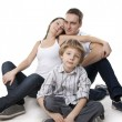 Family lifestyle portrait — Stock Photo #5260092
