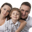 Family lifestyle portrait — Stock Photo #5260097