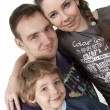 Stock Photo: Family lifestyle portrait