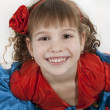 Little girl dancer. - Stock Photo