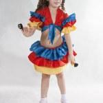 Little girl dancer. — Stock Photo