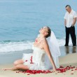 Tropical wedding — Stock Photo #4059468