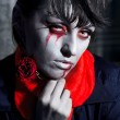 Halloween vampire — Stock Photo