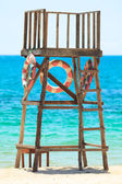 Lifeguard tower — Stock Photo
