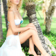 Summer bride - Stock Photo