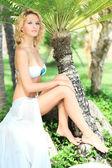 Summer bride — Stock Photo