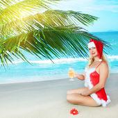 Sexy santa — Stockfoto