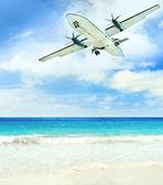 Landing — Stock Photo