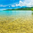 Stock Photo: Tropical panorama