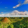 Chocolate Hills — Stock Photo #5220331