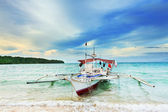 Philippine boat — Stock Photo