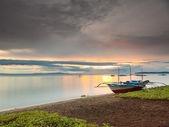 Filippijnse zonsondergang — Stockfoto