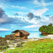 Fisherman hut — Stock Photo