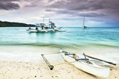 Philippine boat — Stock Photo