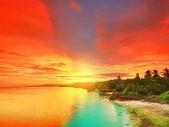 Gün batımı — Stok fotoğraf