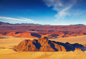 Namib Desert, aerial view — Stock Photo