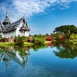 Sanphet Prasat Palace, Thailand — Stock Photo #4020182