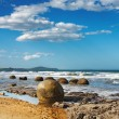 Stock Photo: Moeraki Boulders, New Zealand