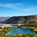Aviemore hydroelectric dam, New Zealand — Stock Photo