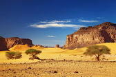 Sahara Desert, Tadrart, Algeria — Stock Photo