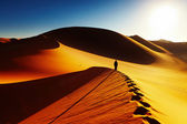 Sahara Desert, Algeria — Stock Photo