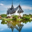 Sanphet Prasat Palace, Thailand - Stock Photo
