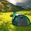 Tourist tents — Stock Photo