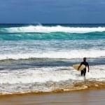 negentig mile beach, Nieuw-Zeeland — Stockfoto