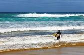 Ninety Mile Beach, New Zealand — Stock Photo