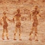 Rock paintings of Tassili N'Ajjer, Algeria — Stock Photo #5122441