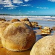 Royalty-Free Stock Photo: Moeraki Boulders, New Zealand