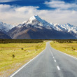 Mount Cook, New Zealand — Foto Stock