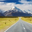 Mount Cook, New Zealand — Stok fotoğraf #5122552