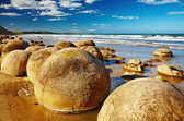 摩埃拉奇大石块新西兰 — 图库照片