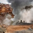 Active volcano — Stock Photo