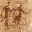 Rock paintings of Tassili N&#039;Ajjer, Algeria - Lizenzfreies Foto