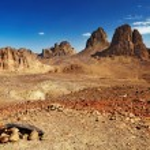 Sahara Desert, Algeria — Stock Photo #5352812