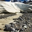 Stock Photo: Melting glacier