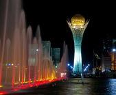 Light fountain. — Stock Photo
