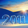 New year 2011 — Stockfoto