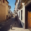 Royalty-Free Stock Photo: Traditional old Spanish street