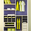 Stock Photo: Modern closet 3d rendering