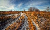Kırsal sonbahar manzarası — Stok fotoğraf