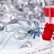 Christmas gifts , macro shoot — Stock Photo