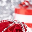 Stock Photo: Christmas gifts , macro shoot