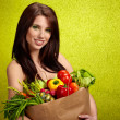 Fruits and vegetables shopping — Stock Photo #4786487